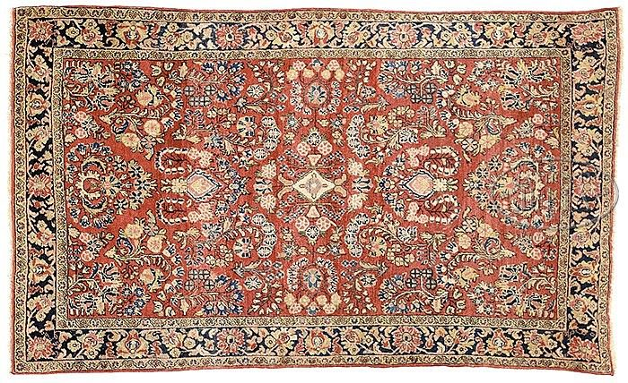 17 Best Images About Persian Sarouk Oriental Rugs On Pinterest