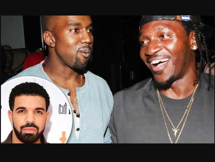 Bayo S Blog Pusha T Denies Kanye West Told Him About Drake S S Pusha T Rapper Kanye West