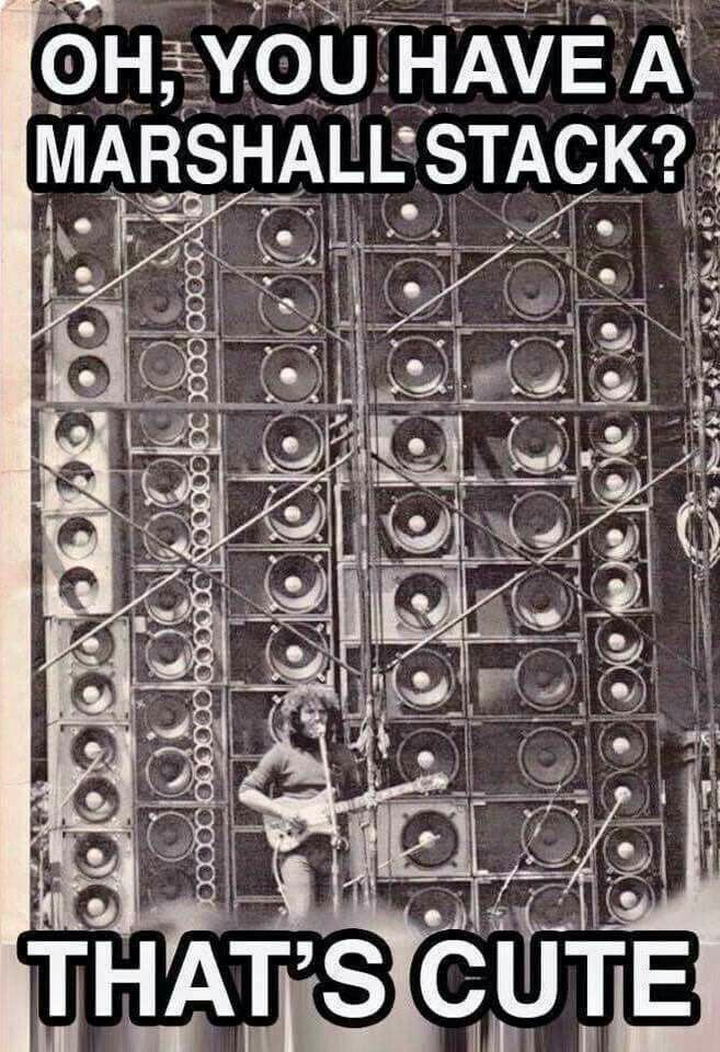 Jerry Garcia in front of the wall of sound #GratefulDead