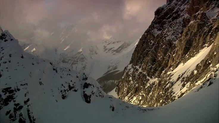 "Stunning #powderskiing clip from ""The Balance of Powder"" filmed at Mica (British Columbia). #heliskiing"