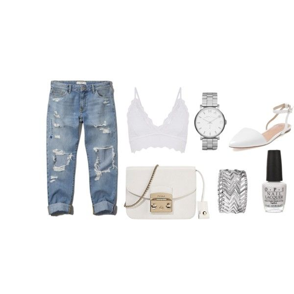 Untitled #9 by brooke-stewart98 on Polyvore featuring Abercrombie & Fitch, Best Society, Furla, MARC BY MARC JACOBS, Express and OPI