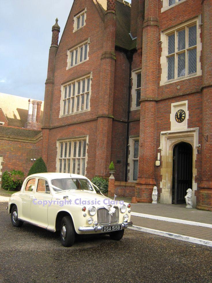 Classic Wedding Car Hire Norwich