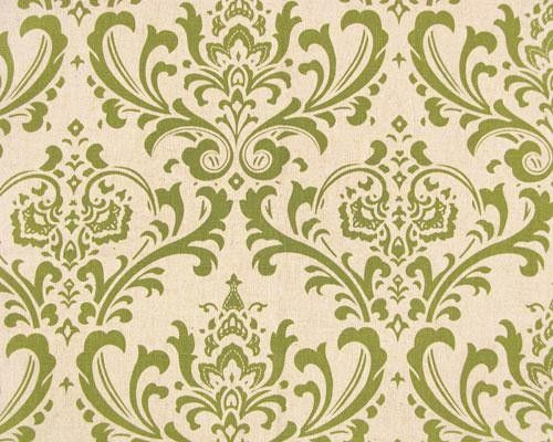 Pair of curtain drapery panels, UNLINED, olive green oatmeal linen damask, custom made, 50 X 84 inches