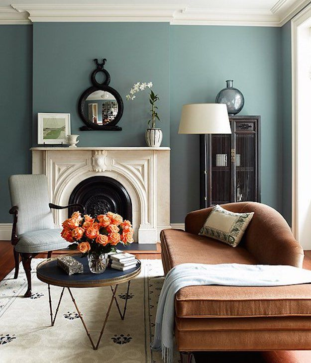 Varied Wall Colours | 8 Subtle Color Schemes To Make Your Small Living Room  Feel Bigger Part 83
