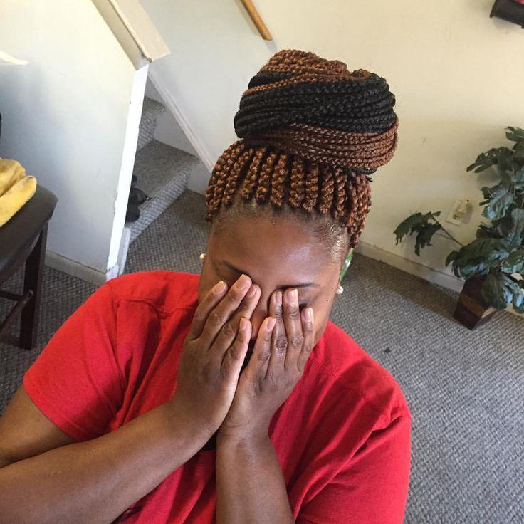 Medium size box braids #braidstomesmerize #braidsbeauties #urbanhair #superhairo #neatbraider #voiceofhair #growinghands #houseofbraids #braidsporn #braids #hotd #protectivestyles #hair2mesmerize #potd #haircrush #hairstyle #hairideas #hairporn #hairlove #hairextensions #braidideas #braidsforgirls #braider #humbledbraider #Braidlikeanafrican #braiderinphilly #braidsgang #bestbraids #longbraids #braidsbyki