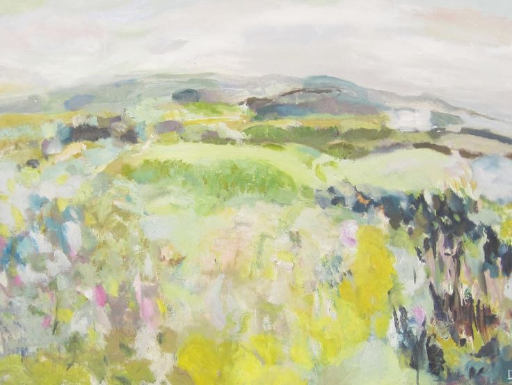 Walking into Spring Oil on Canvas 60 x 91 cm £ 1,250  #Art #Paintings #Landscape