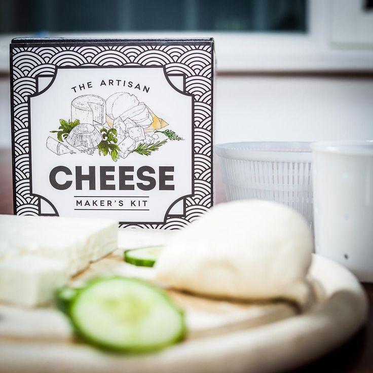 Set zur Herstellung von 4 verschiedenen Käsesorten