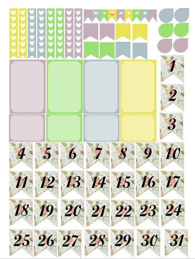 Everybody Wants To Plan.: Floral Birds/Kawaii Laundry Baskets