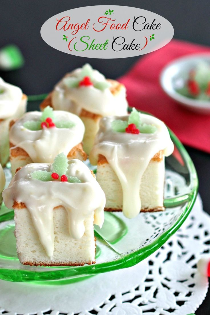 251 best christmas brunch images on pinterest kitchen recipes and christmas angel food cake sheet cake a fun way to serve a traditional dessert topped with a sensational lemon glaze that takes this cake to heavenly forumfinder Image collections