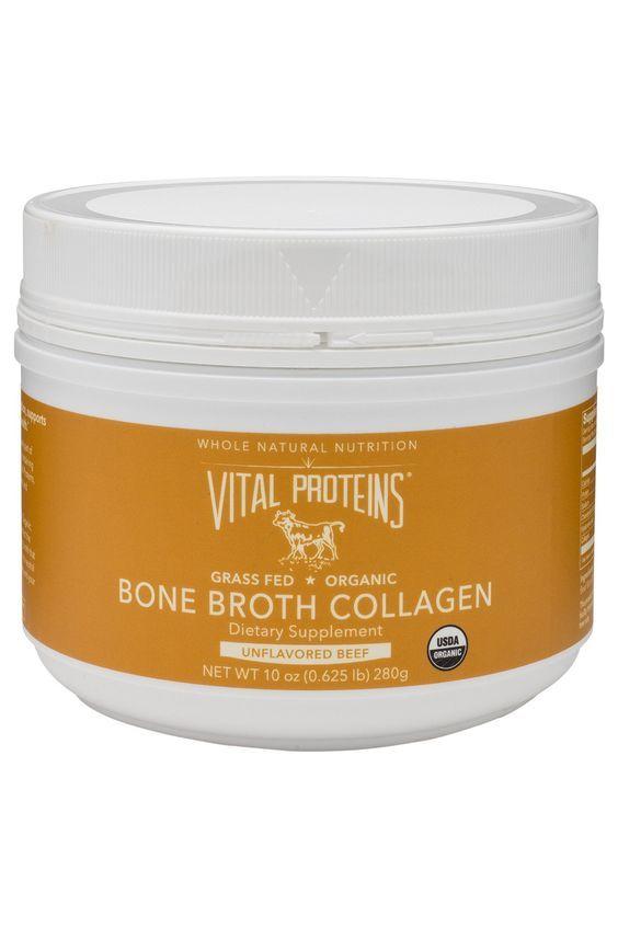 Organic, Grass-Fed Beef Bone Broth Collagen - Just beef