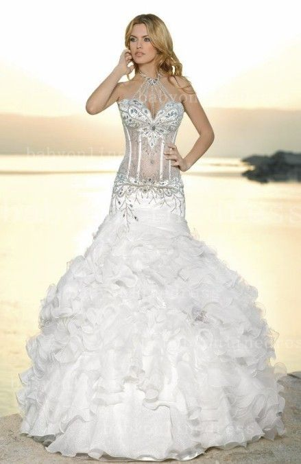 20 best wedding dress style for your body shape images on for Sexy designer wedding dresses