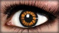 Golden Twilight Prescription Contact Lenses