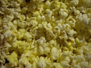 popcorn race game - great for Boy Scout popcorn kickoff