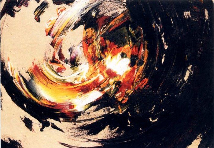 Reigl Judit Dominanciaközpont 1958, olaj, vászon, 148x180 cm