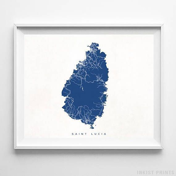Pin On Foreign Country Street Map Wall Art Print By Inkist Prints