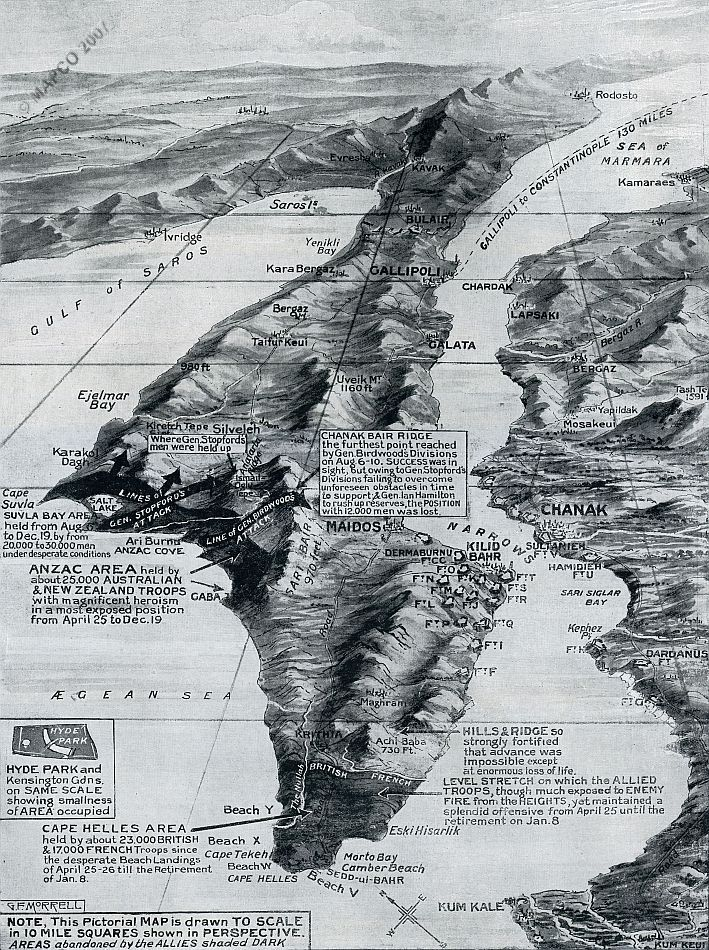 The Gallipoli Withdrawal 1916.