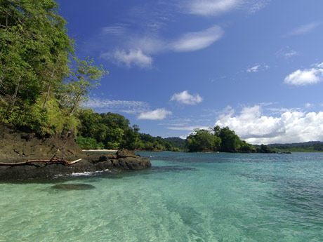 Coiba National Marine Reserve is an easy day trip from Santa Catalina for snorkeling or scuba.