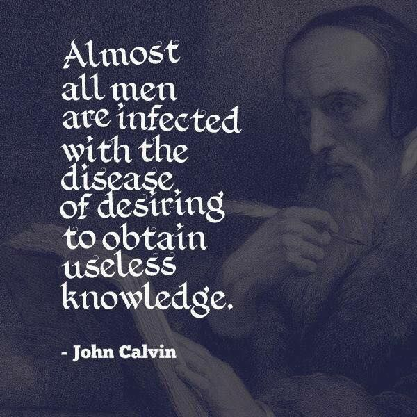 the life and impact of john calvin on christianity Calvin's role in the history of science to characterize the history of science and christianity as a in order to devise ways of relieving the burdens of life.
