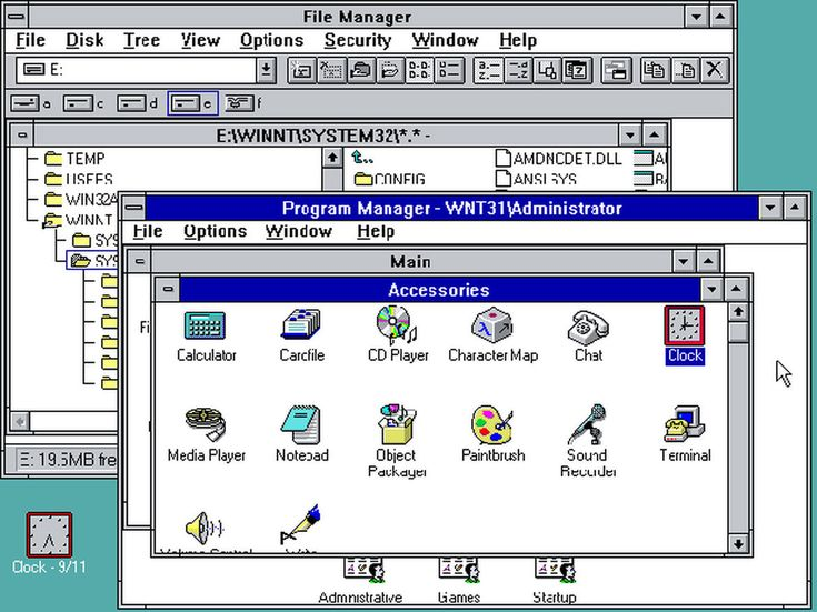a look into windows nt operating system Consultations related to the controls over unix and windows nt system and application security microsoft' s windows nt server operating system is a general.