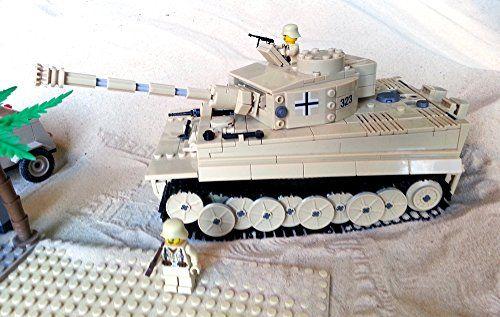 Modbrix 82011 - Afrika Korps PzKpfw VI Tiger Panzer, knapp 1000 Teile, inkl. Lego© Wehrmacht Soldaten Brigamo http://www.amazon.de/dp/B00SMH4OTG/ref=cm_sw_r_pi_dp_u7bjvb1V6ZK81