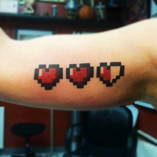 #zelda #tattoo #8bit #gaming | What I Do | Pinterest ...