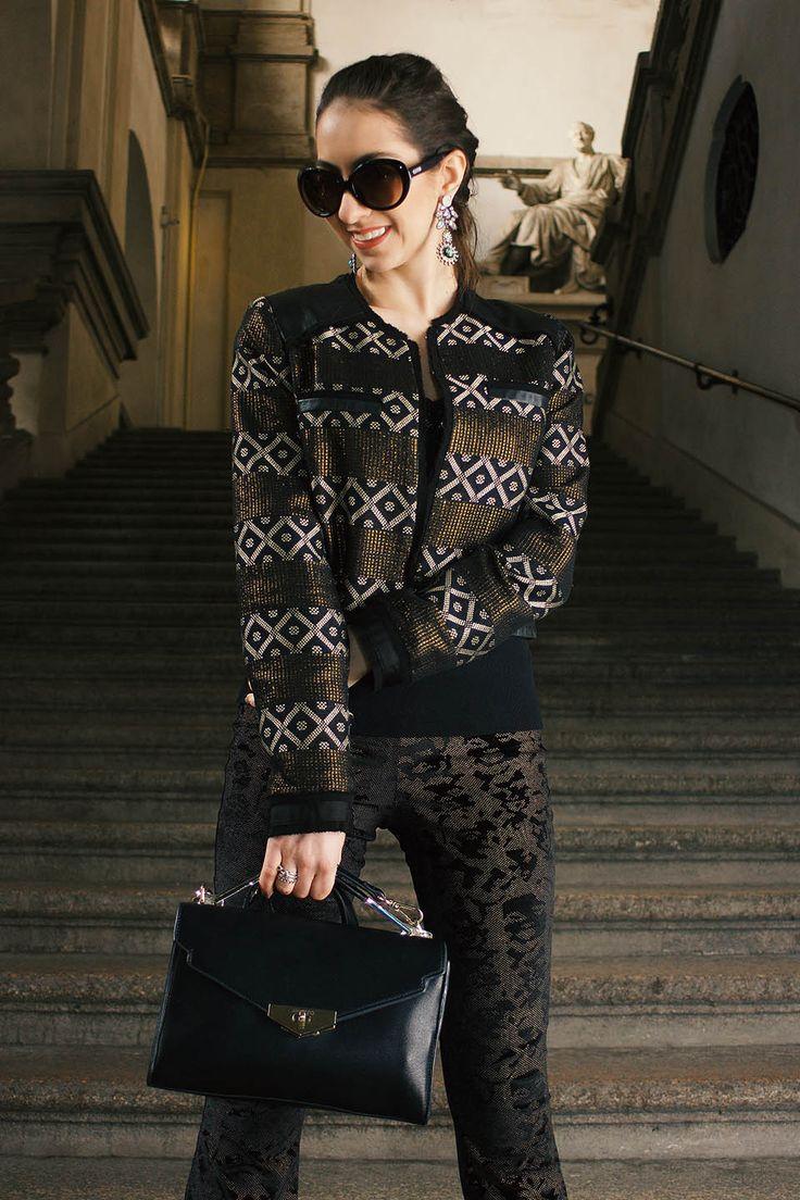 Manu Luize - Look MFW | Street style Milan Fashion Week