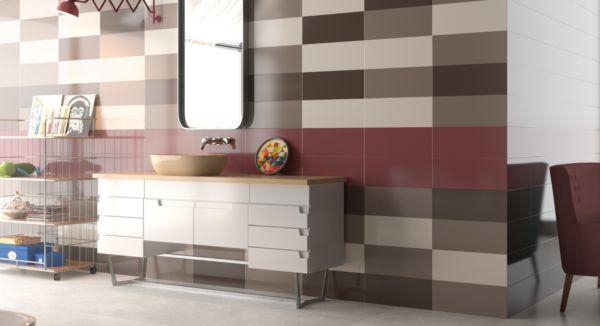 Carrelage batim argenta ceramica tanguy mat riaux sols for Materiaux salle de bain