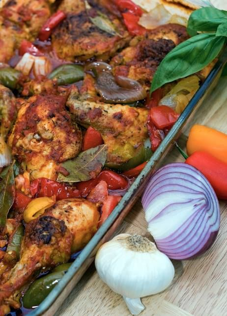 """For Recipe: CLICK on PIC and when taken to 2nd pic click again..Chicken Cacciatore...  ...Recipe by George Stella... ...For tons more Low Carb recipes visit us at """"Low Carbing Among Friends"""" on Facebook"""