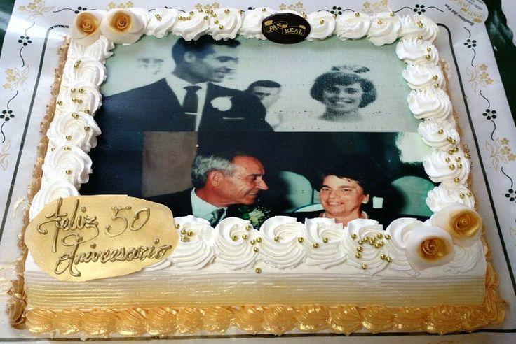 Nata y yema.  Decoración 50 Aniversario