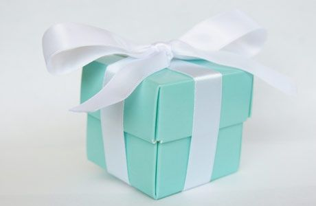 Tiffany blue and chocolate