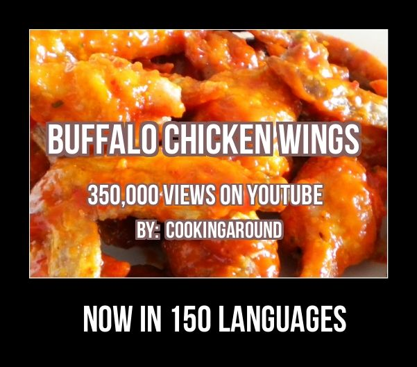 """Buffalo Chicken Wings - Spicy   Buffalo Chicken Wings Just Awesome. Have Them  """" Your Way """"  Sauce for Dipping Or  Right  On,,,,"""