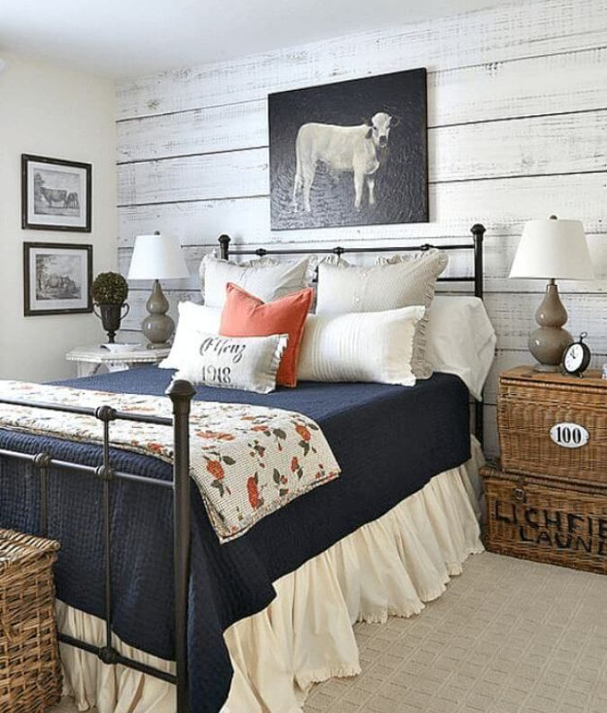 35 Awesome Farmhouse Bedroom Design And Decor Ideas Country Style Bedroom Rustic Master Bedroom Farmhouse Bedroom Decor