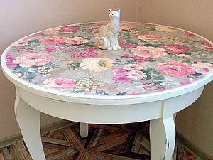 Новая жизнь старого стола - Ярмарка Мастеров - ручная работа, handmade