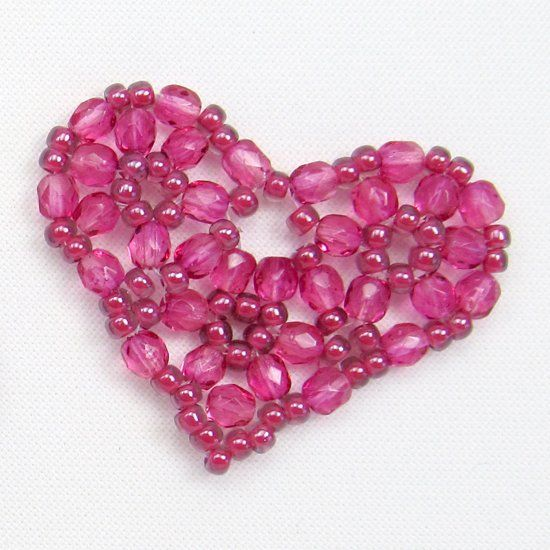 Just in time for Valentine's Day, this cute little heart can be made in less than an hour.