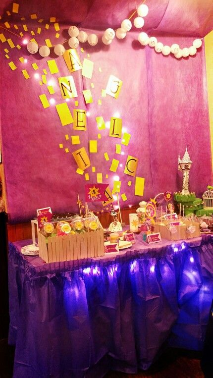 tangled,party