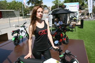 Scooters electricos Exo Bike