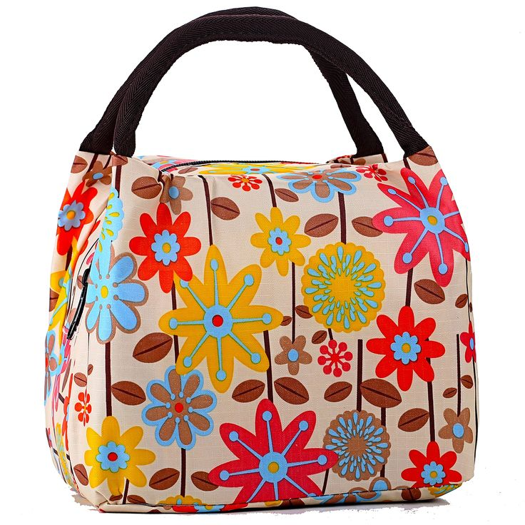 Travel Small Cosmetic Bag Set for Women Lovely Light Waterproof Make Up Bag Tote Purse - Yellow Flower