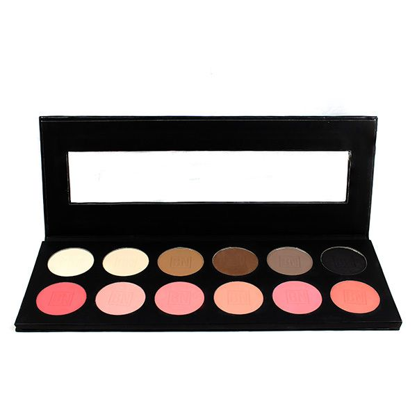 Ben Nye 12-Color Eye Shadow and Rouge Palette | CRC Makeup