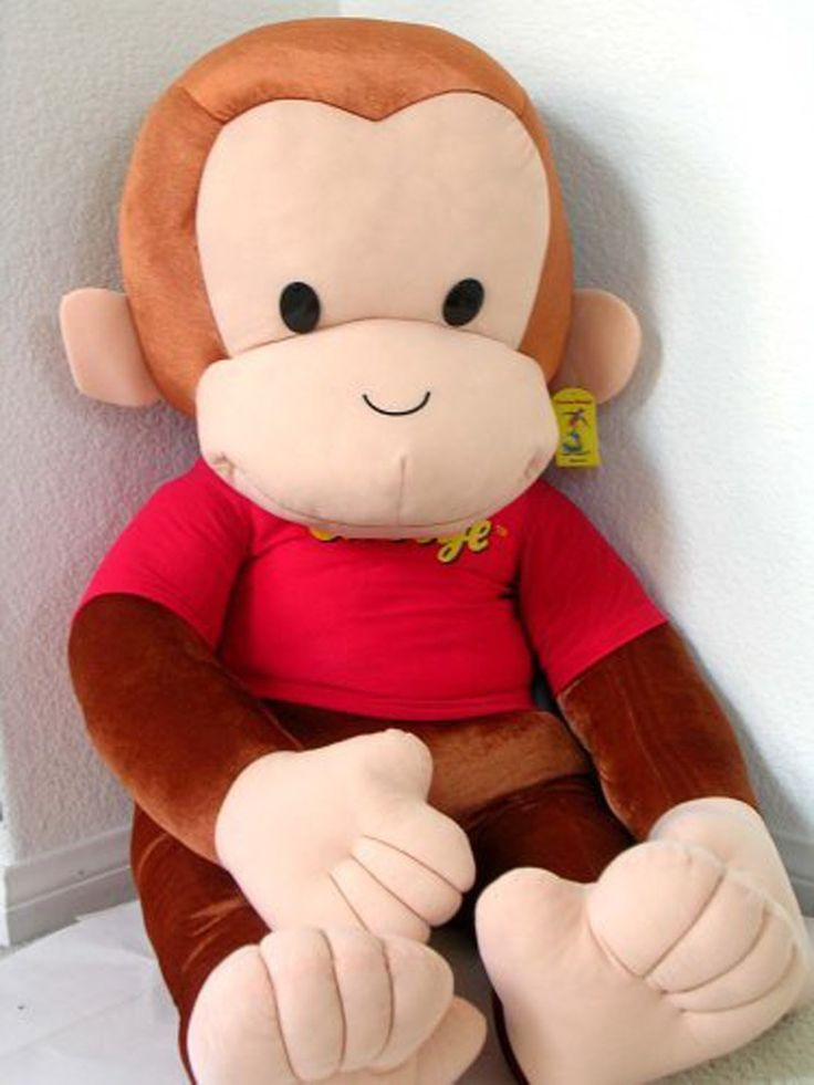 """Item 6 in my Rav4: It has to have room to fit a 48"""" curious george, in case grandma and grandpa gets one for my little guy! @toyotabc   @yoyomama  Amazon.com: Curious George 48"""" Plush: Toys & Games"""