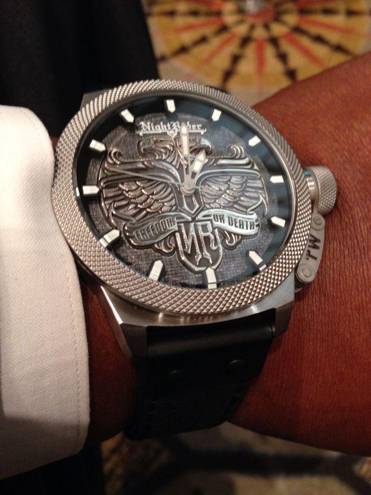 Night Rider Watch worn by Joe Courtney #lifeabovetherim.com
