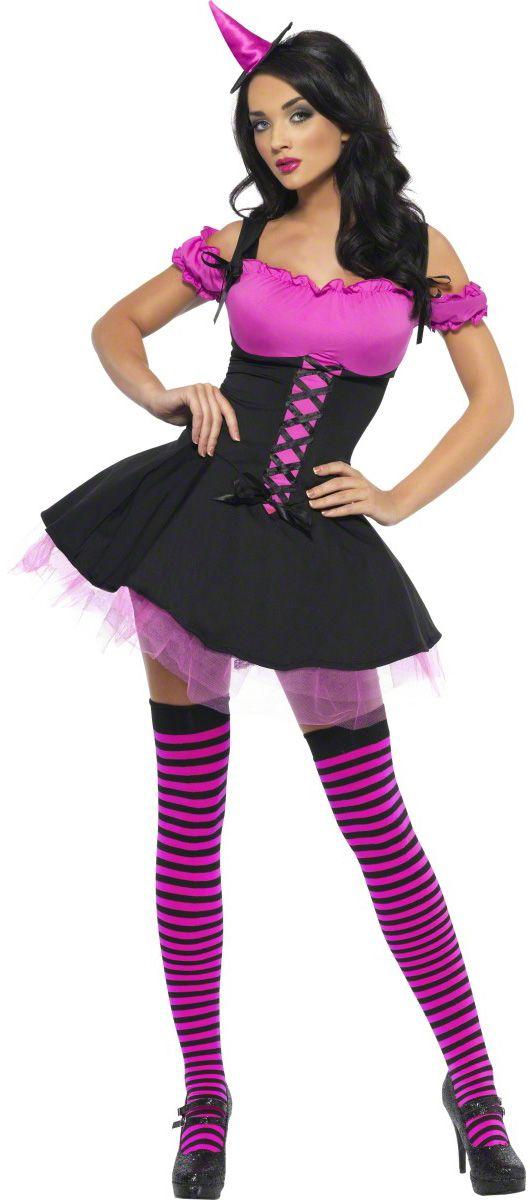 Disfraz de bruja sexy para mujer, ideal para Halloween. Disponible en www.vegaoo.es