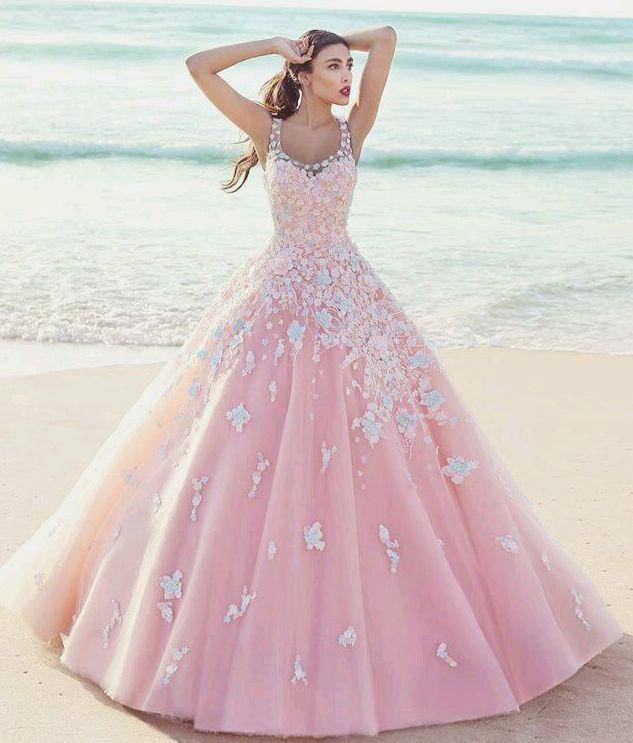 Pink Gown  Aurora  Cinderella Sweet 16 Theme  Dresses