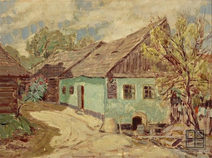 Martin Benka, Zelená chalupa 1914 - 1915