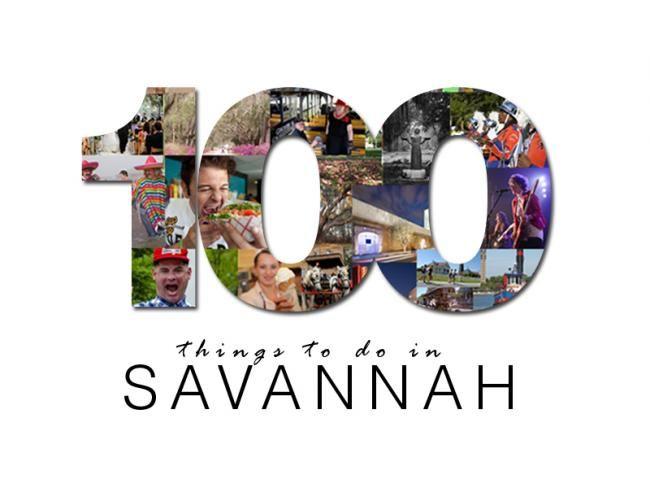 100 things to do in Savannah