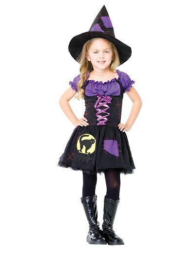 Costume per Halloween da strega versione 5