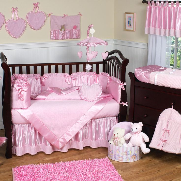 Classy Girl Baby Room Ideas With Pink Nursery Room Inspiration