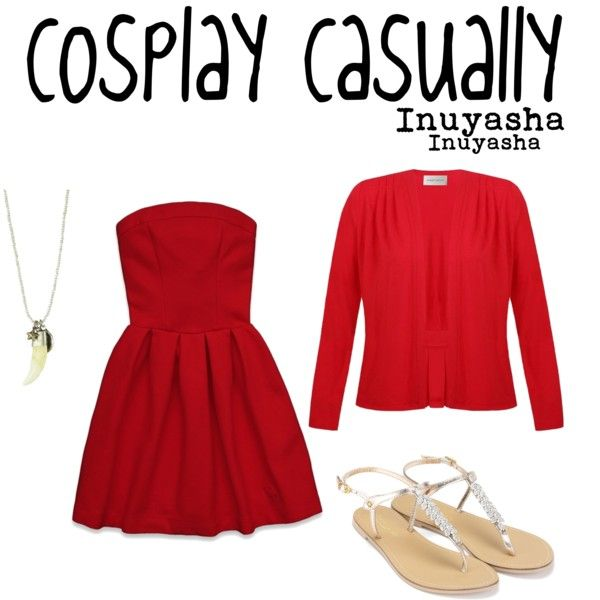 """""""Inuyasha"""" by cosplaycasually on Polyvore"""