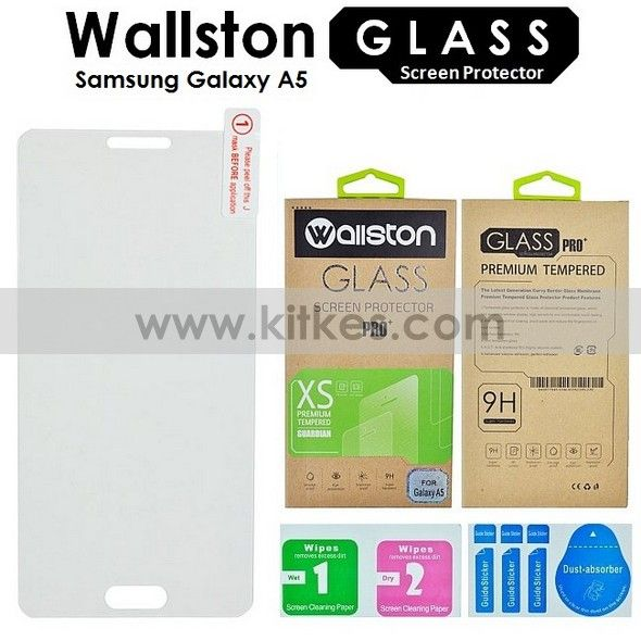 Wallston Tempered Glass Screen Protector Samsung Galaxy A5 - Rp 65.000 - kitkes.com