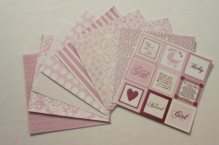 - 9 Blatt Scrapbookingpapier  - 160g/m²  - einseitig  - 16,5x16,5cm  - verschiedene Muster  - geeignet für: Karten, Tags, Geschenkanhänger, Scrapbooka
