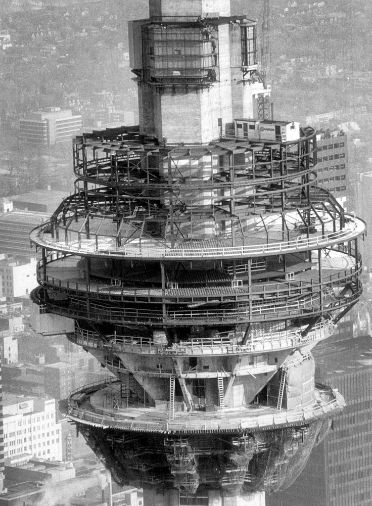CN Tower Construction Feb 6th 1973